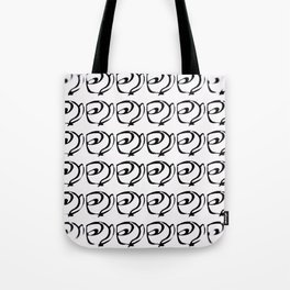 Rows of Flowers, Bright Tote Bag