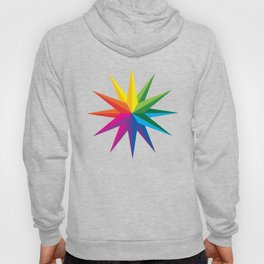 Rainbow Star Hoody