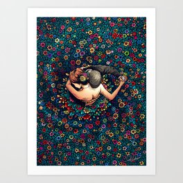 YOU & I - Think A Little Less, Dance A Little More Art Print