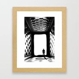 """Into the """"Grate"""" unknown Framed Art Print"""