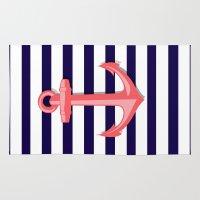 anchor Area & Throw Rugs featuring Anchor by Britt Mansouri