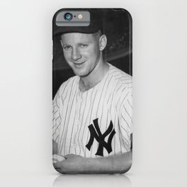 𝓜𝓛𝓑 - HOF - Society6 - Baseball - Edward Charles - Whitey - F O R D - New York - Vintage 6 iPhone Case