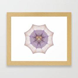 Webbed Heart Framed Art Print
