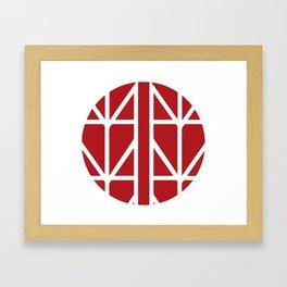 MYTOKYO Symbol Framed Art Print