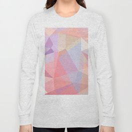 Powder Geometry - bright Long Sleeve T-shirt