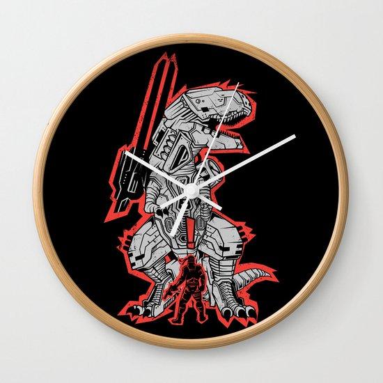 Metal Gear T.REX Wall Clock
