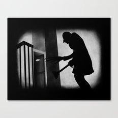 Die Toilette (in German) Canvas Print