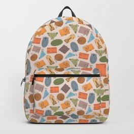 Geometric Zoo Animals Backpack