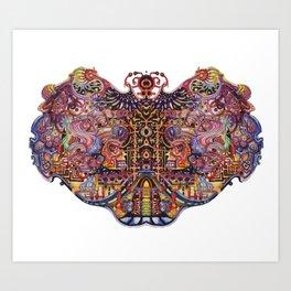 brain cell Art Print