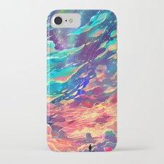 Burning Clouds iPhone 7 Slim Case