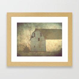 An Iowa Barn Framed Art Print