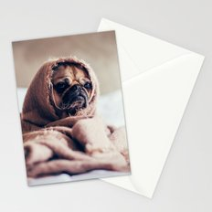 Cute Little Pug Stationery Cards