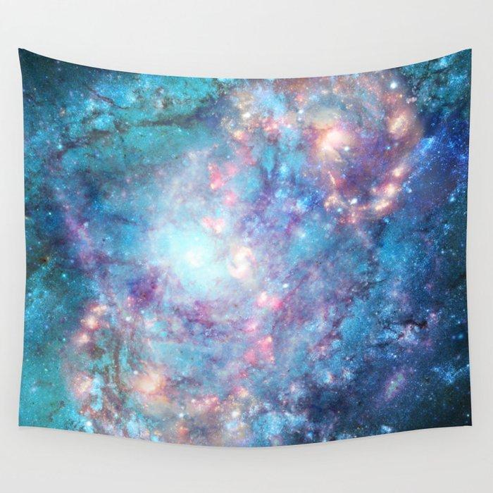 Abstract Galaxies 2 Wall Tapestry