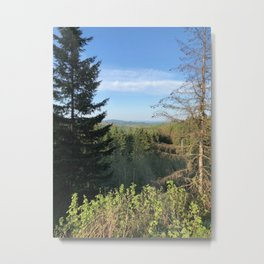 The Greens of the Pacific Northwest Metal Print
