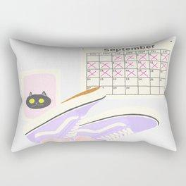 TIME FLIES Rectangular Pillow