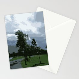 Clouds and Trees Stationery Cards