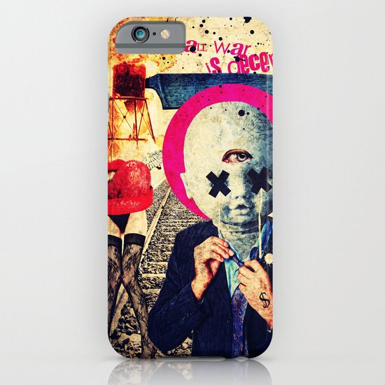 All War Is Deception iPhone & iPod Case