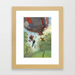Dorothy Of Oz Framed Art Print