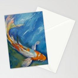 Yamato Nishiki Koi Stationery Cards