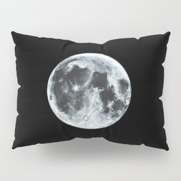 Full Moon Painting Pillow Sham