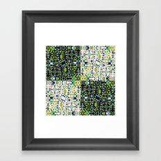 Patchwork 1 Framed Art Print