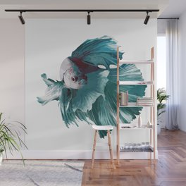 Betta Love Wall Mural