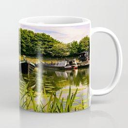 Canal dock. Coffee Mug