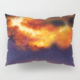 War in the Heavens - Digital Space Art Pillow Sham