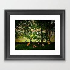 Come Share a Picnic Framed Art Print
