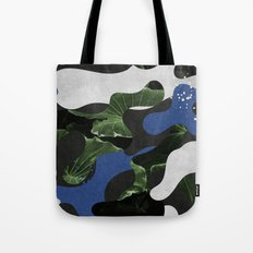 Leafs Camouflage Tote Bag