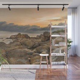Stones, Ocean and Heaven Wall Mural