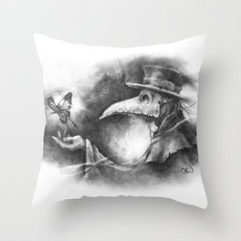 The Resilience of Life Throw Pillow