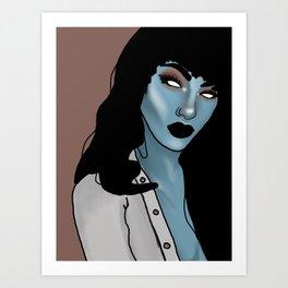 Arielle bloo Art Print