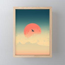 Lonesome Traveler Framed Mini Art Print
