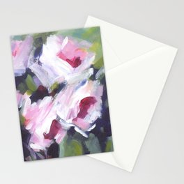 White Rose Bouquet Stationery Cards