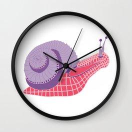 Robot Snail Wall Clock