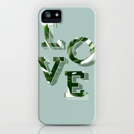 Love plants iPhone Case