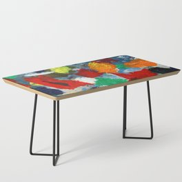 The Artist's Palette Coffee Table