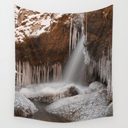 Stream of Frozen Hope Wall Tapestry