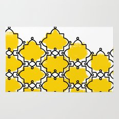 Geometric Painting. Brush Joy  Rug