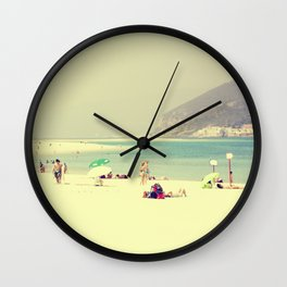 beach day out Wall Clock