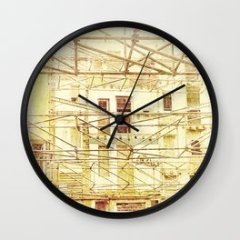 Under Conctruction Wall Clock