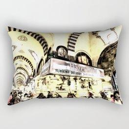 Spice Bazaar Istanbul Art Rectangular Pillow