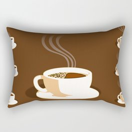 The Perfect Cup Of Coffee Rectangular Pillow