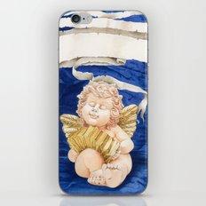 Cherub with Squeeze-box iPhone & iPod Skin