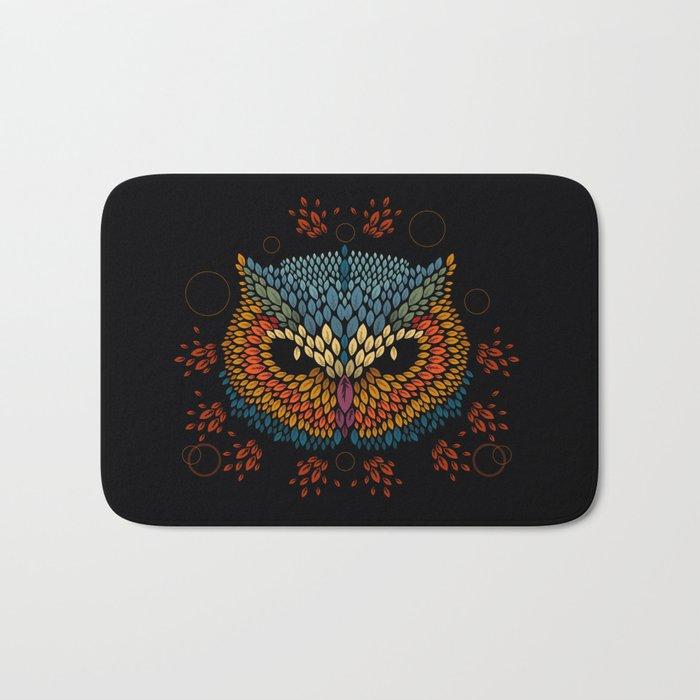Owl Face Bath Mat