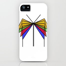 Glass Butterfly iPhone Case