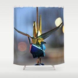 Crane Luck Shower Curtain