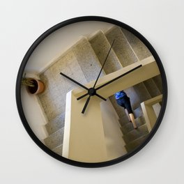 Walking up - coming down Wall Clock