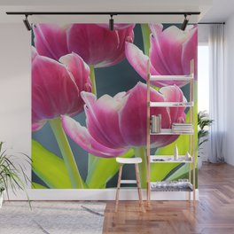 Tulip Bouquet Spring Atmosphere #decor #society6 #buyart Wall Mural